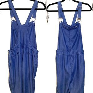 Dance & Marvel Chambray Skinny fit Overalls